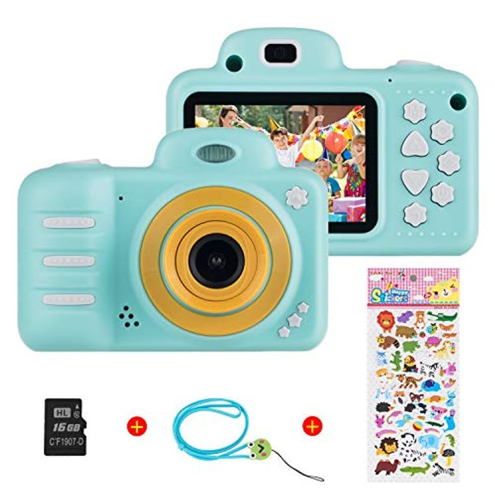 Kids Digital Caevmera for Girls Boys, Vannico Rechargeabl - Only £8.8!