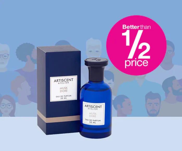 Better than 1/2 Price - 50ml & 100ml Artiscent Mens Fragrance
