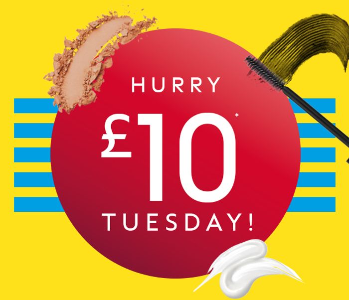 Boots £10 Tuesday (XX Revolution/Olay/No7/Eucerin/Bondi Sands and more)