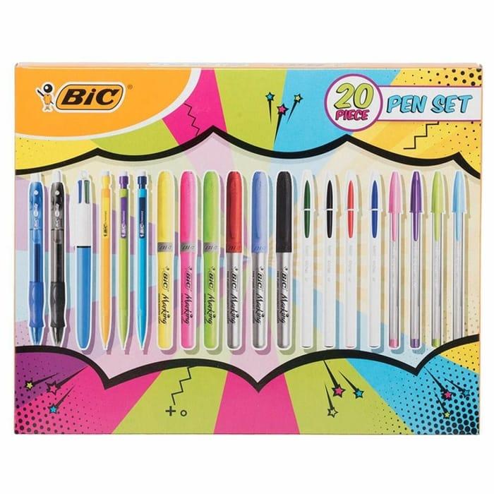 BiC 20 Piece Assorted Pen Set
