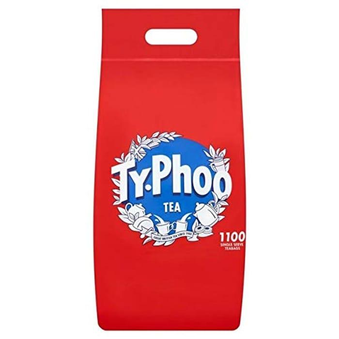 BEST EVER PRICE! TYPHOO TEA 1100 Teabags