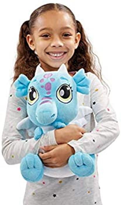 Animagic Dragon Plush Soft Toy with Light and Sounds - 30cm