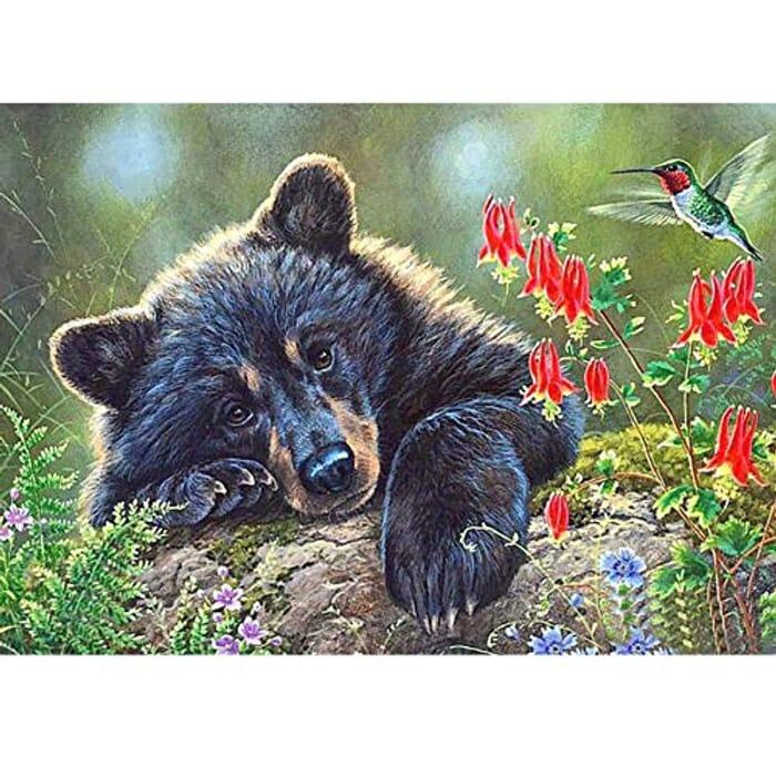 5D 'Bear' Diamond Painting Kit