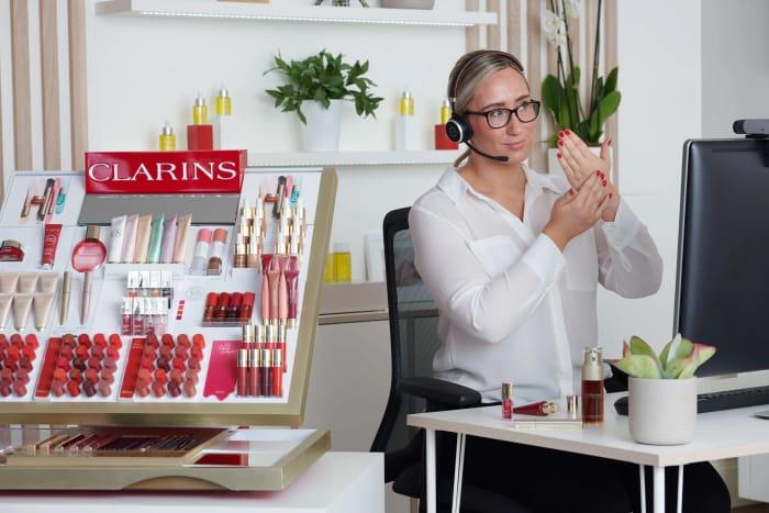Free Clarins Serum & Moisturiser Sample
