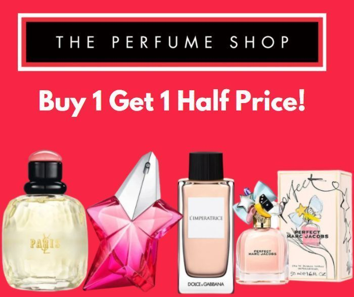 The Perfume Shop Members Buy 1 Get 2nd Half Price Inc Sale + Free Delivery