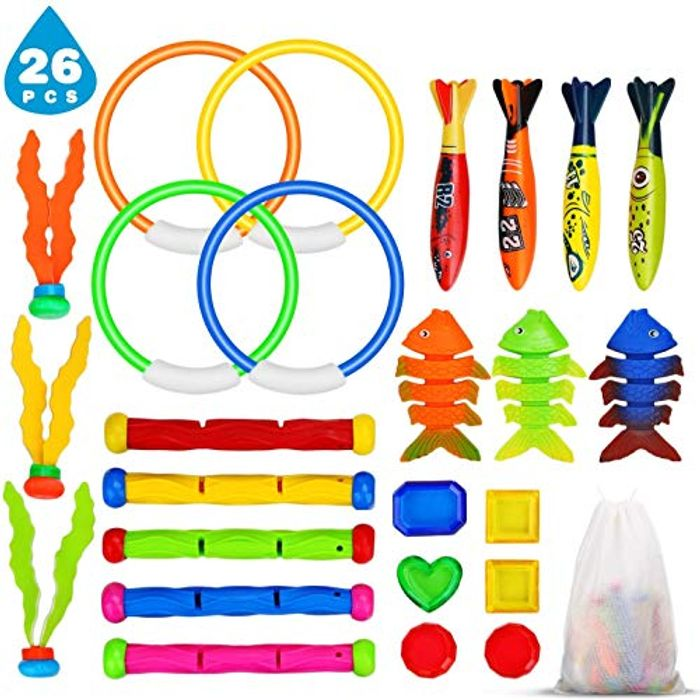 26PCS Swimming Pool Toys Set