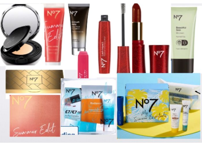 1/2 Price on No7 Clearance Products Foundation,Etc