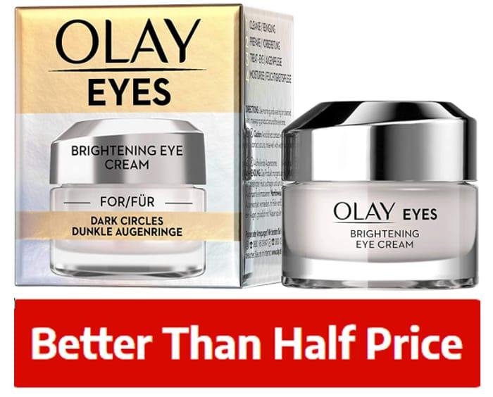 Olay Brightening Eye Cream for Dark Circles, 15ml