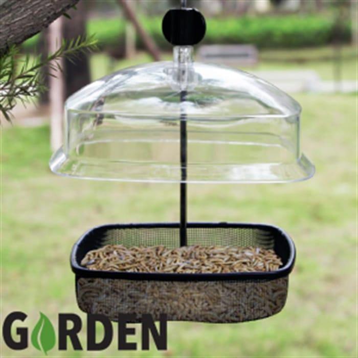 Garden Mealworm & Suet Feeder