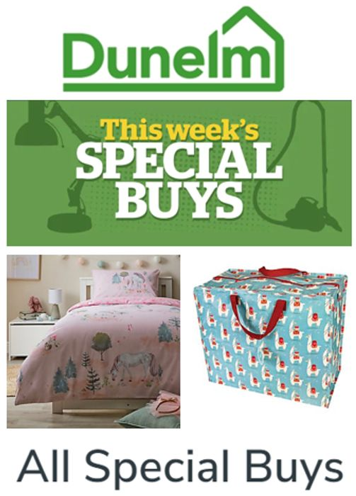 Dunelm - Shop All This Week's 'Special Buys'