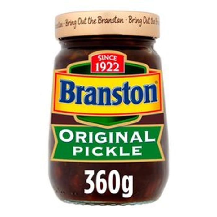 Branston Original Pickle 360g / Branston Pickle Small Chunk 360g