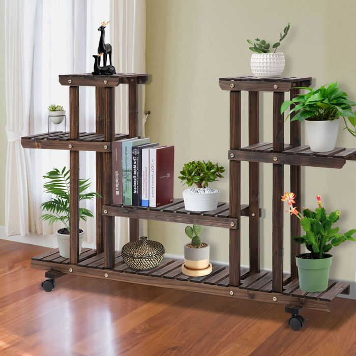 Outsunny Garden Holder Display Shelf/Stand £26.87 Delivered with Code