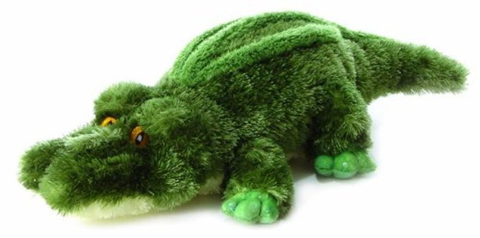 AURORA Mini Flopsie Crocodile Soft Toy, 8ins