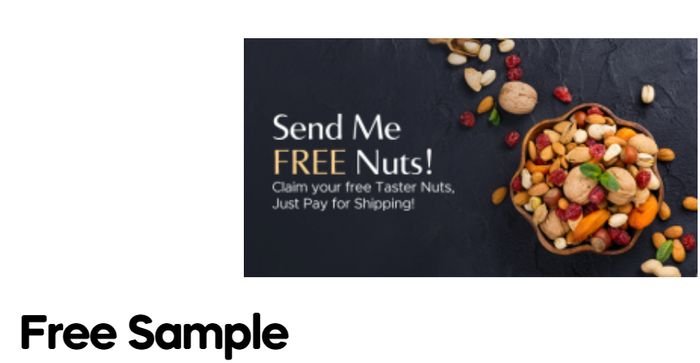 Claim Your Finest Nuts & Dried Fruits Free Samples *Just Pay P&P