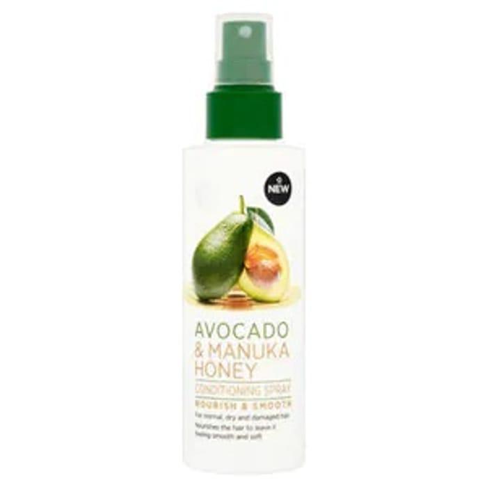 Superdrug Extracts Avocado & Manuka Honey Conditioning Spray