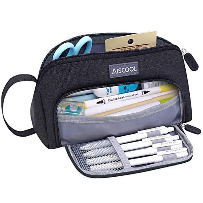 Aiscool Big Capacity Pencil Case