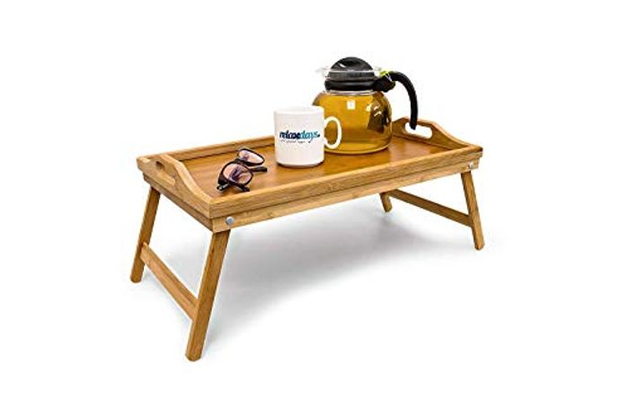 Wooden Tray Breakfast in Bed