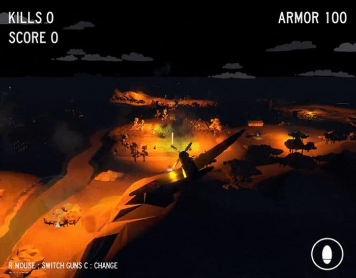 Free Game: World War 2 Dogfight Simulator (PC, MAC, Linux) at itch.io