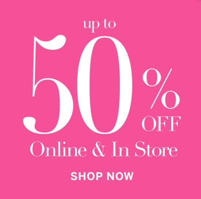 Victoria's Secret Up to 50% off Sale