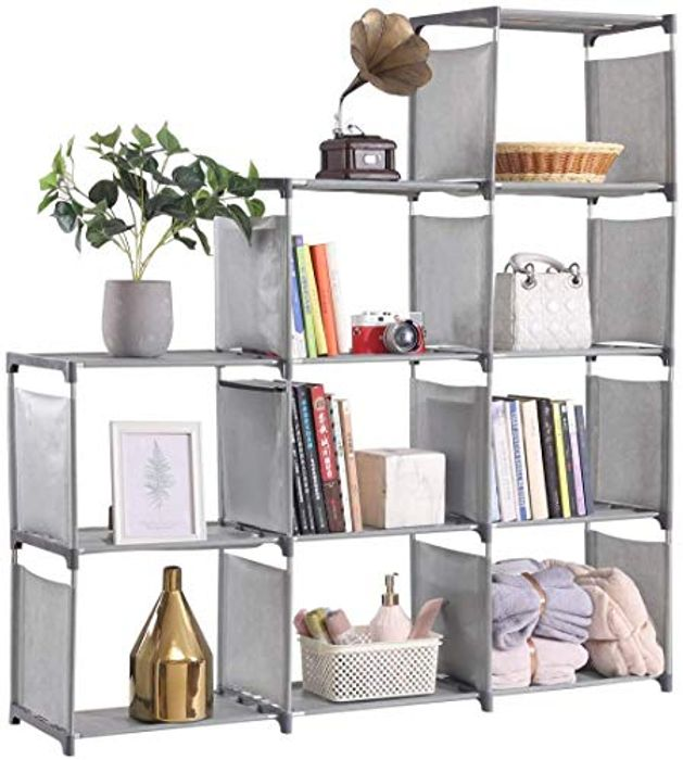 Cubes Storage Unit,DIY Office Storage Shelves Open Bookshelf