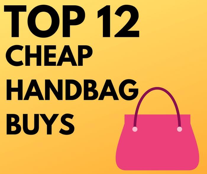 12 Cheap Handbag Buys Under £10 - from £2.40!