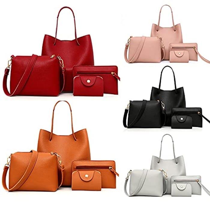 Handbags & Shoulder Bags PU Leather Handbag - Only £8.7!