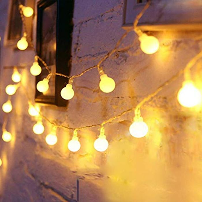 DEAL STACK - Globe String Lights Battery Operated Warm White + 10% Coupon