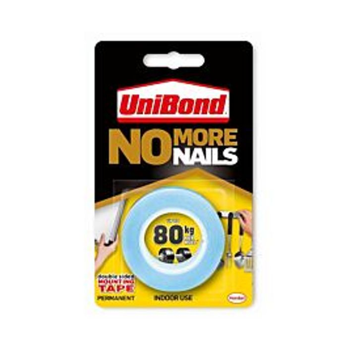 Unibond No More Nails Double Sided Mounting Tape