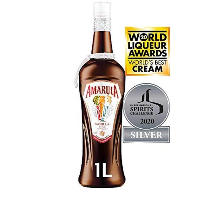 BEST EVER PRICE Amarula Vanilla Spice Cream Liqueur, 1 L