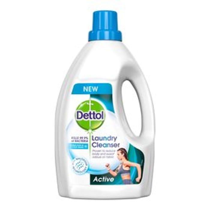Dettol Antibacterial Laundry Cleanser Active 1.5L