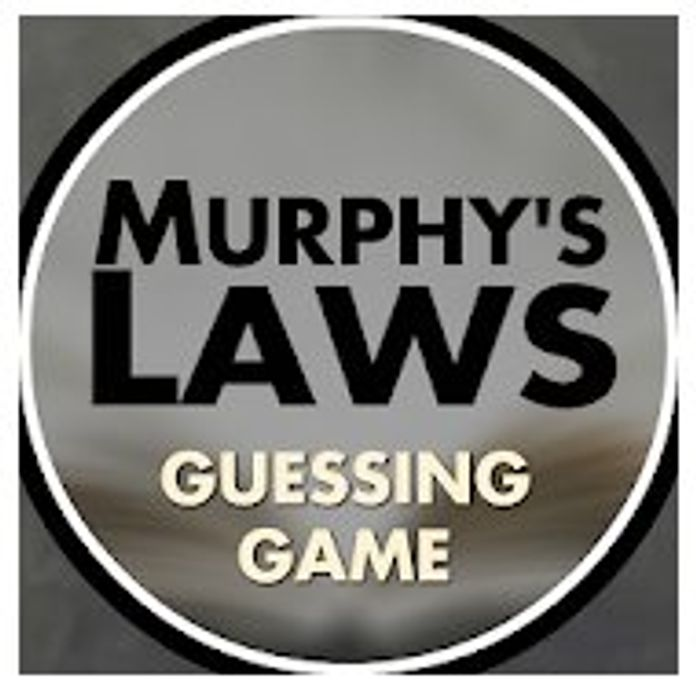 Murphy's Laws Guessing Game Pro - Usually £1.89