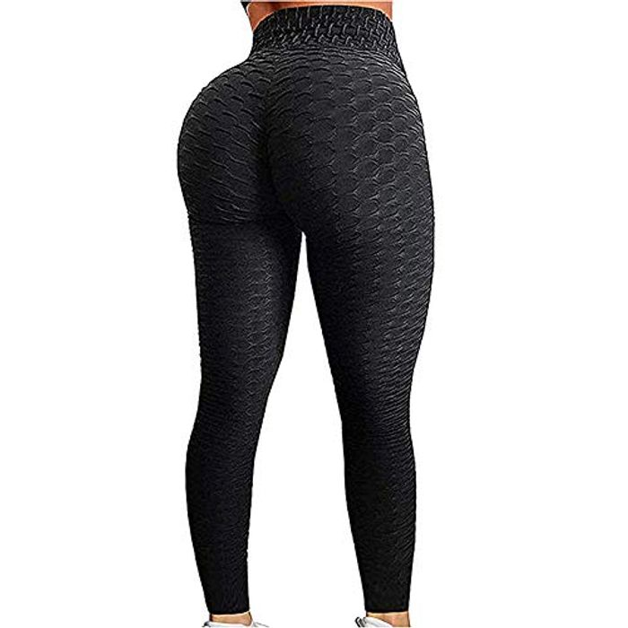 EXGOX Women High Waist Yoga Pants Stretch Running Workout Yoga Leggings