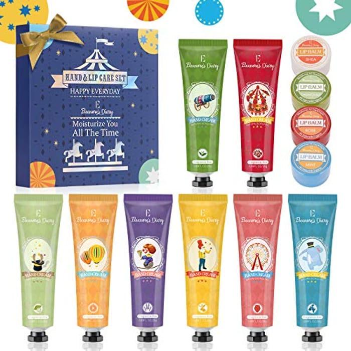 Hand Cream Gift Set and Lip Balm Gift Set
