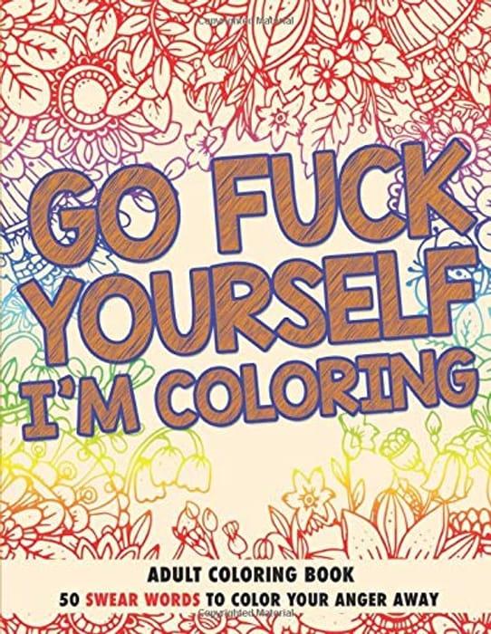 Humorous Colouring Book at Amazon