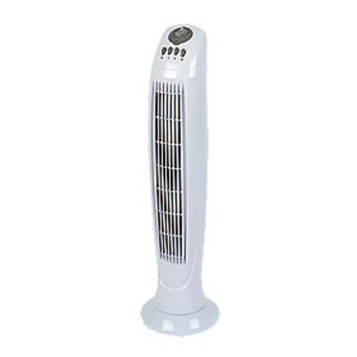 """Tall Oscillating 33"""" Tower Fan - Only £28.99!"""