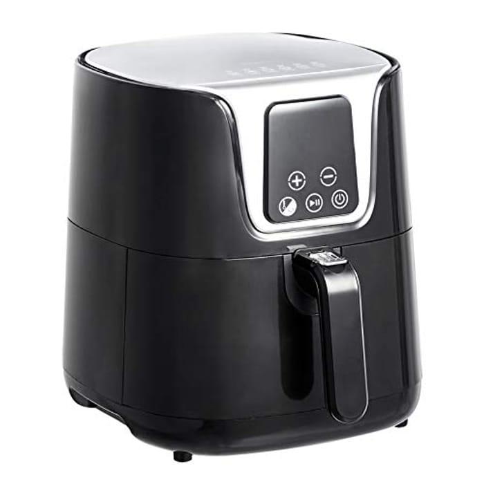 Amazon Basics 3 Litre 1400W Compact Multi-Functional Digital Air Fryer