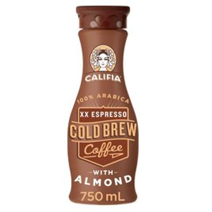 Califia Farms XX Expresso Cold Brew Coffee with Almond