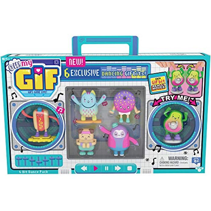 OH! MY GIF Dance Pack - 6 Exclusive Real Life Dancing Animated GIFbits