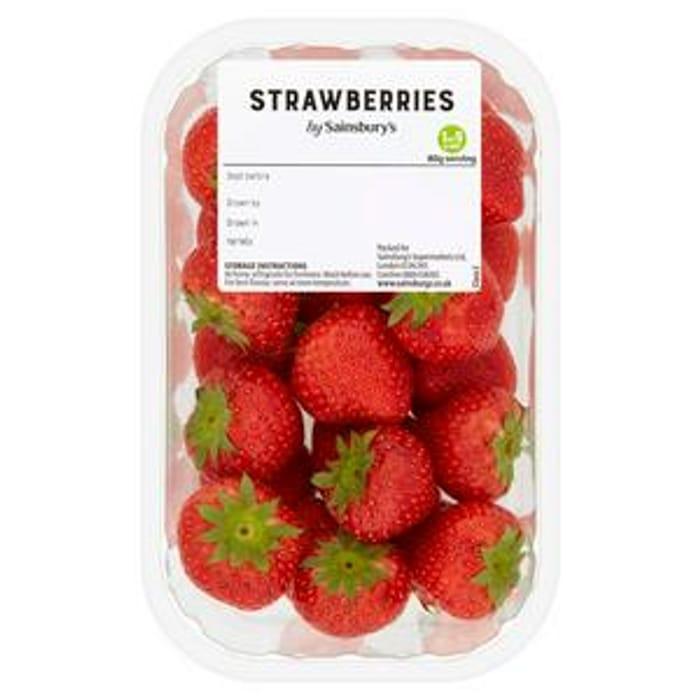Sainsbury's Strawberries 400g