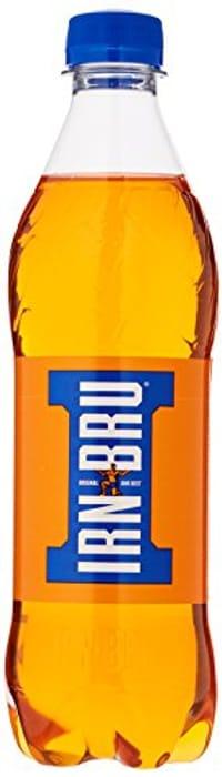 IRN-BRU Fizzy Drink Bottles, 500ml, (Pack of 12) - Only £5.5!