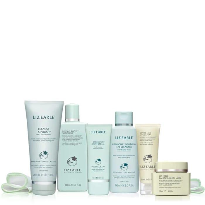 Liz Earle Beauty Co. bundle plus free gift. £50, worth £117