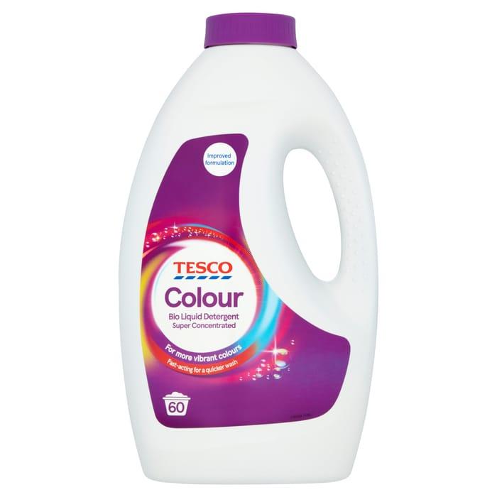 Tesco Colour Liquid Detergent Super Concentrated 60W