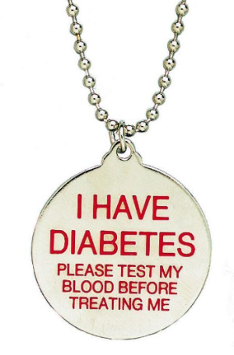 FREE Diabetes Awareness Necklace and Information Pack