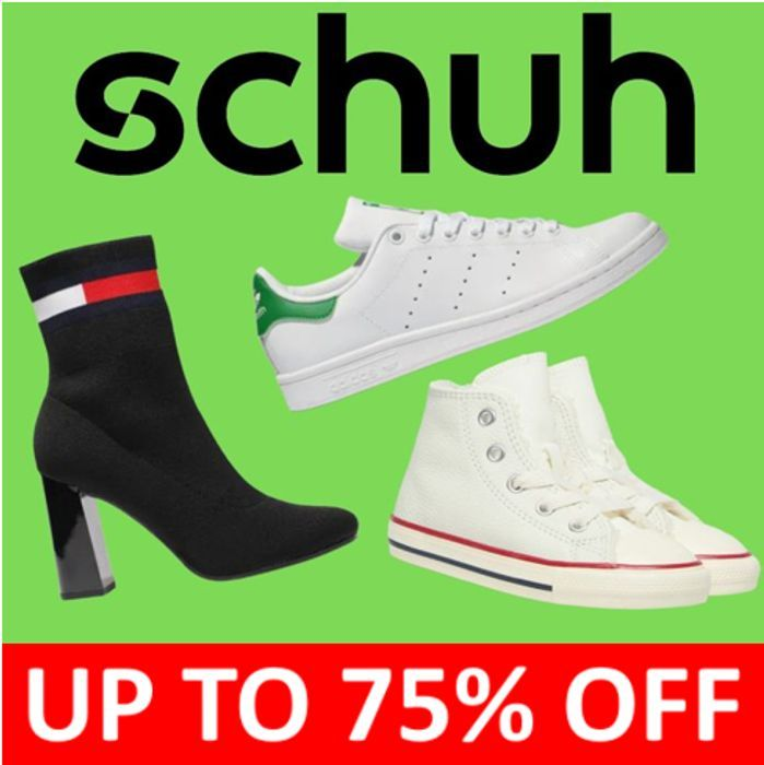Schuh SALE - up to 75% OFF Womens, Mens, & Kids (Students EXTRA 10% OFF)