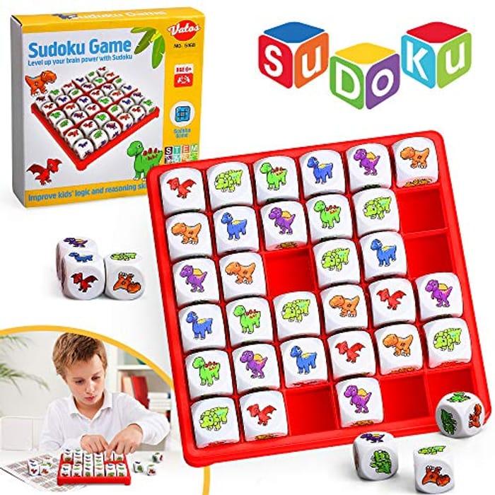 VATOS Dinosaur Sudoku Puzzle Board Game