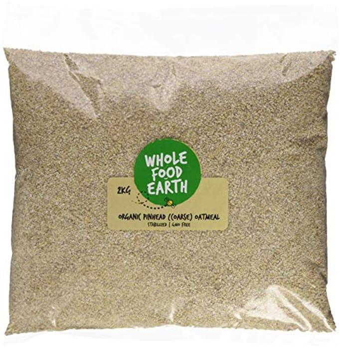 Organic Oatmeal Coarse, 2 Kg