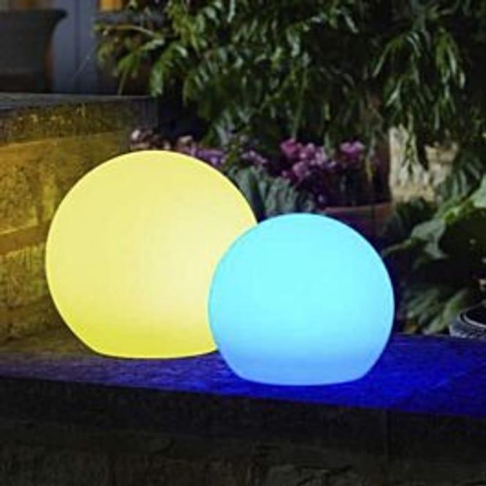 Smart Solar Lunieres Orb Light - Large