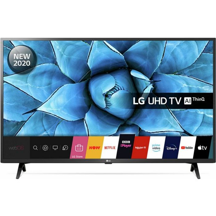 LG 50 Inch Smart 4K UHD HDR LED Freeview TV