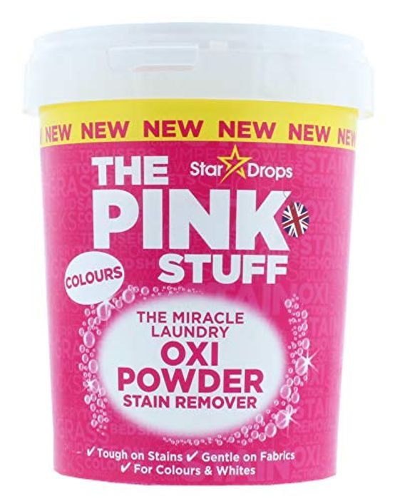 Oxi Powder Stain Remover for Colours, White, 1kg