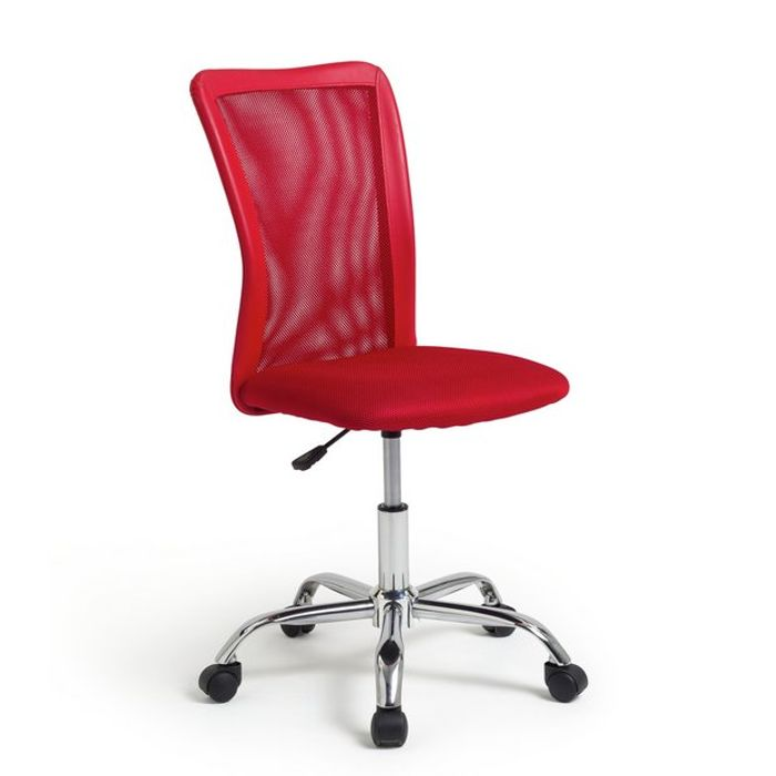 Mesh Office Chair - Red